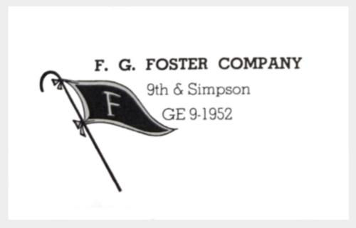 F.G. Foster Ad